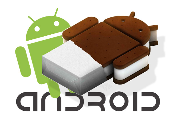 Android-logo-with-Android-Ice-Cream-Sandwich-and-Android-Font