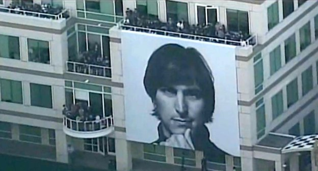 Young-Steve-Jobs-Apple-celebration