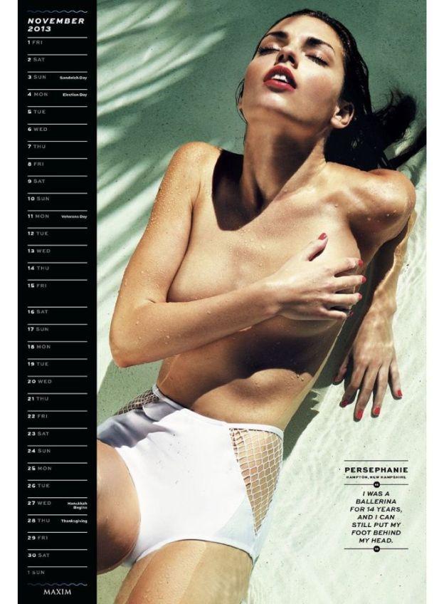 Maxim Hometown Hotties 2013 Calendar