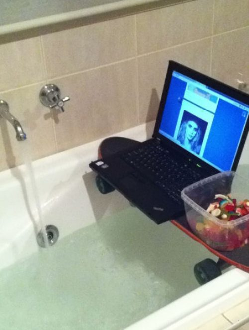 Redneck inventions fix 13 pictures for Bathroom ideas kid inventions