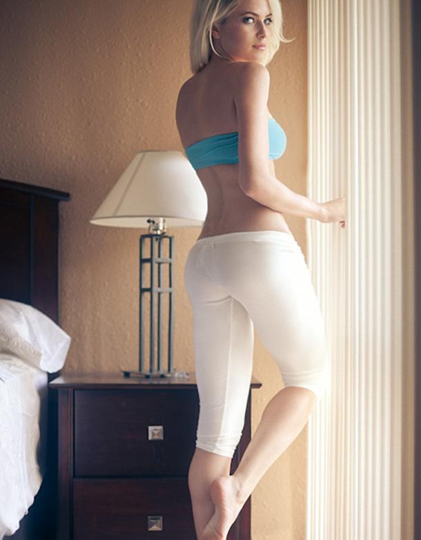 Teen Girl Tight Yoga Pants