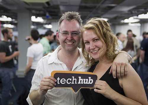 TechHub-Elizabeth-Varley-and-Mike-Butcher