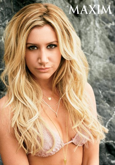 Ashley Tisdale is 'Scary' sexy in new Maxim