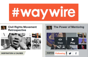 "Cory Booker's #Waywire Becomes A ""Pinterest For Video"" With Refocus On Curation"