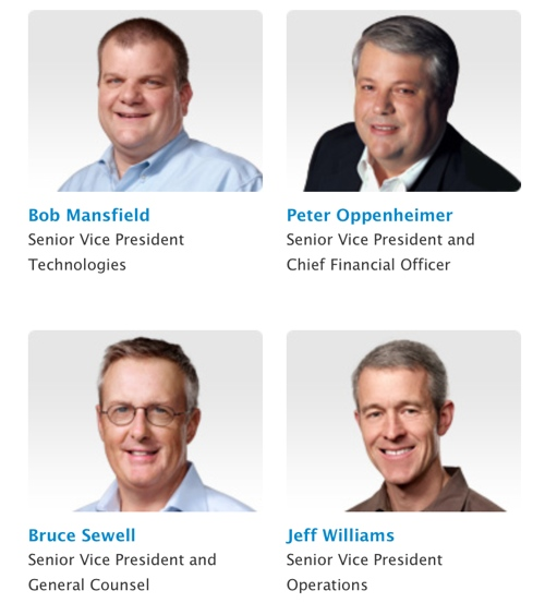 Apple employs 4 of the top 5 highest paid execs in the US