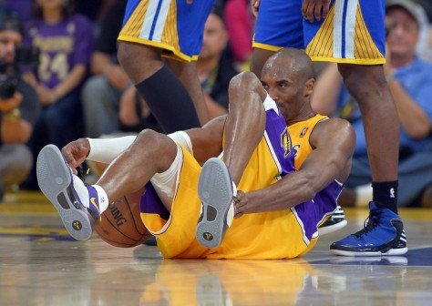 Kobe Bryant likely out 6-9 months