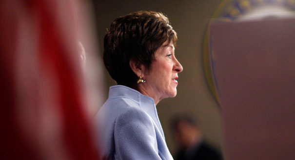 Report- Collins supports Manchin-Toomey background checks plan