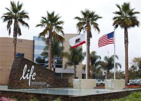 A view shows the headquarters of Life Technologies Corp in Carlsbad