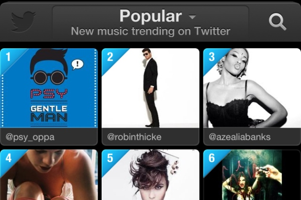 Twitter #music service makes public debut