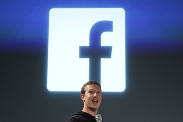 Facebook CEO Zuckerberg addresses the audience during a media event at Facebook headquarters in Menlo Park