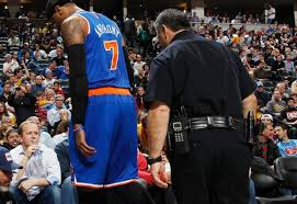 Carmelo Anthony to get examined