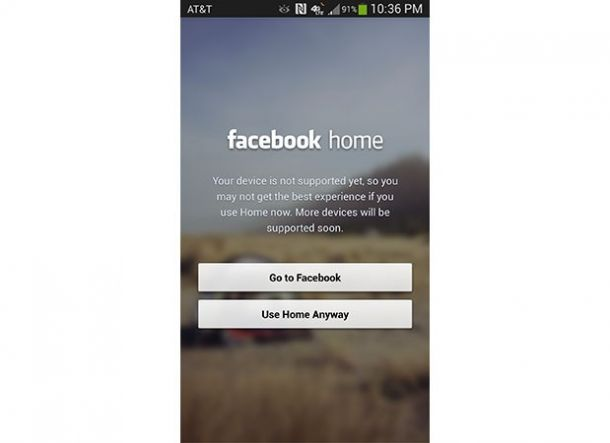 Facebook Home Arrives on HTC One and Galaxy S4