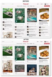 Pinterest redesign cleans up the clutter