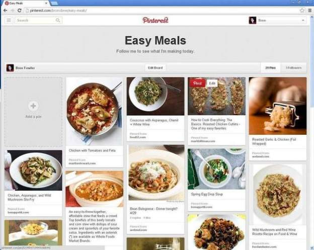 Pinterest update cleaner, easier to manage