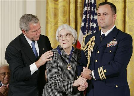 U.S. President George W. Bush awards the Presidential Medal of Freedom in Washington