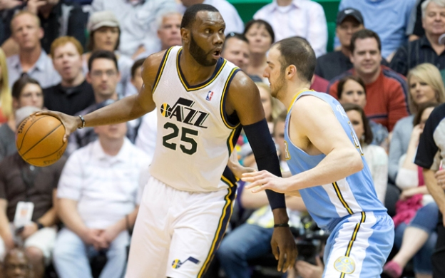 NBA: Denver Nuggets at Utah Jazz