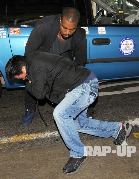 Kanye West Is Fed Up With The Paparazzi!  (VIDEO)