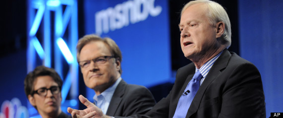 Chris Matthews, Rachel Maddow, Lawrence O'Donnell