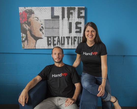 Hacking homelessness: HandUp lets you help out via mobile phone donations!!!  (GOOD READ)