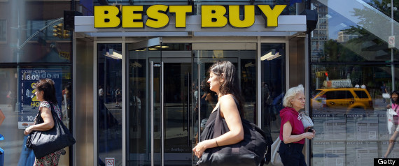 Best Buy Posts First Quarterly Profit In A Year