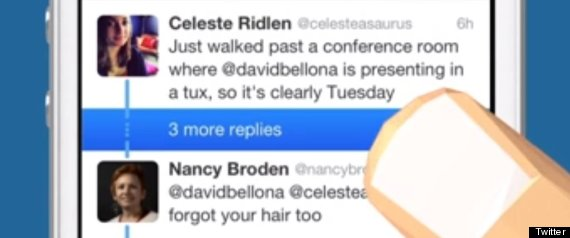 Twitter Makes Conversations Easier To Follow With Simple Line !!!  (VIDEO)