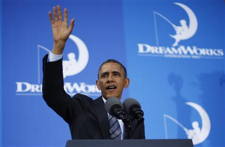 In Western swing, Obama goes on offensive over healthcare law